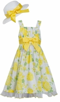 Bonnie Jean Big Girls Easter Dress and Easter Hat