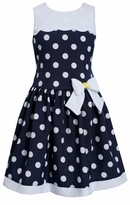 Bonnie Jean Big Girls Navy Dot Nautical Dress - SOLD OUT