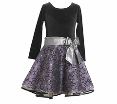 Bonnie Jean Collection: Purple Hipster Dress - sold out