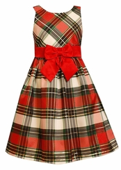 Bonnie Jean Girls Christmas Plaid Holiday Dress - SOLD OUT