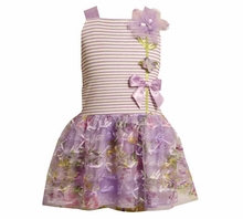 Bonnie Jean Lavender Mesh Dress - sold out