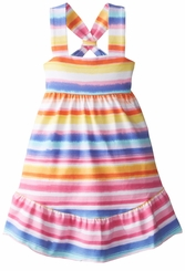 Bonnie Jean Little Girls Ombre Stripe Sundress