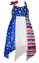 Bonnie Jean Little Girls Patriotic Flag Dress - sold out