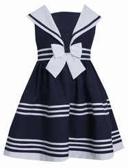Bonnie Jean Little Girls Sailor Dress Sleeveless - SOLD OUT