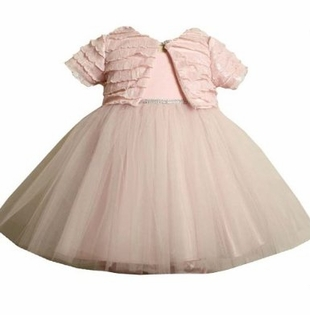 Bonnie Jean - Pink Ballerina Dress with Jacket - sold out