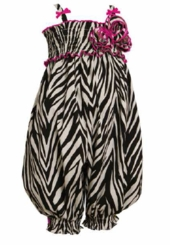Bonnie Jean - Zebra Coverall - sold out