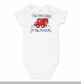 Boy's Little Firefighter One Piece