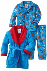 Boy's Pajamas - All Star Robe and Pajama Set - SOLD OUT