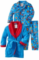 Boy's Pajamas - All Star Robe and Pajama Set