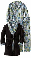 Boy's Pajamas - Rock Dog 3 Piece Robe And Pajama Set