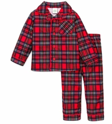 Boys Christmas Pajamas  Infant or Toddler Plaid