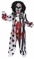 Boys Costumes : Scary Costumes Bleeding Clown - sold out