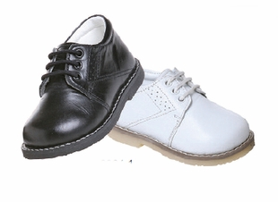 Boys Dress Shoes - Smooth Leather Choose Color