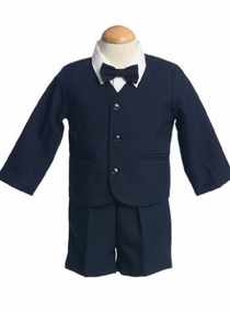Boys Eton Suit - Navy - OUT OF STOCK
