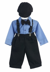 Boys Formal Black Pant Set - with Hat (coming soon)