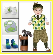 Boys Golf Clothes ,  Baby Golf Clothes & Gifts