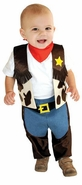 Boys Mullin Square Halloween Costume : Little Cowboy Infant Costume