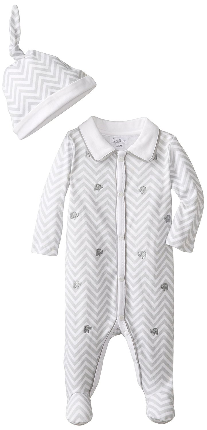 Quiltex Baby-Boys Elephant Layette Set  3-6 months at Sears.com