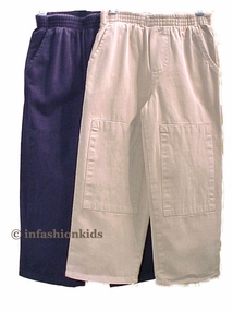 Boys Pants - Khaki and Navy  - sold out