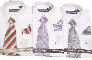 Boys Shirt and Tie Set - 5  to 7