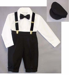 Boys Suit 5-pc Knickers Outfit Tuxedo Style - sold out