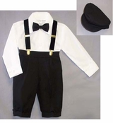 Boys Suit 5-pc Knickers Outfit Tuxedo Style