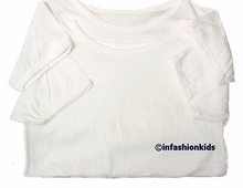 Boys Undershirts ~ White Cotton ~ 2 Pack - FINAL SALE