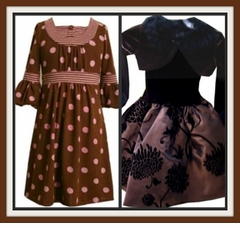 BROWN Dresses