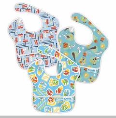 Bumkins 3 Pack Waterproof SuperBib, Boy Set - sold out
