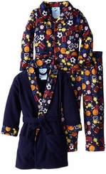 Bunz Kids Little Boys' Sports Champ Bathrobe and Pajama Set - sold out