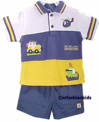 Buster Brown Boys Clothes - Adventures Short Set