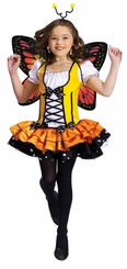 Orange Butterfly Princess Costume