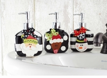 Ceramic Holiday Soap Pumps -  CHOOSE Style- sold out