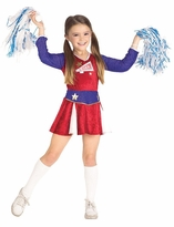 Cheerleader Costume - Retro Cheerleader Kids Costume