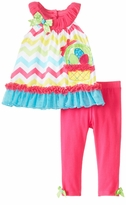 Chevron Easter Basket Applique Easter Legging Set - SOLD OUT