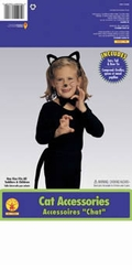 Child Cat Accessory Kit - Cat Costume Kit