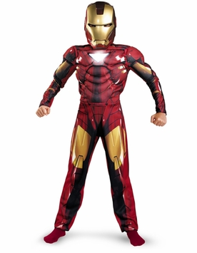Child Iron Man Costume - Deluxe Muscle Chest - SOLD OUT