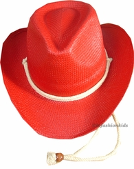 Child Red Cowboy Hat - SE