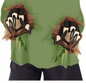 Child Wolfman Gloves - With Fur  sold out