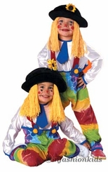 Childrens Halloween Costumes - CLOWN Costume