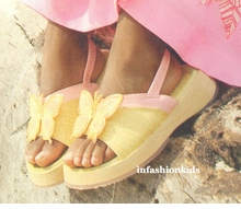 Childrens Shoes - Butterfly Sandals