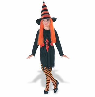 Childrens Witch Costume - Hagatha The Witch
