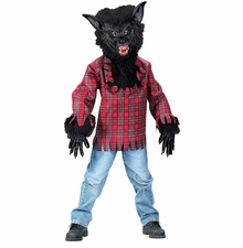 Childs Werewolf Costume - Super Deluxe