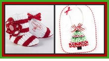 Christmas Bibs, Booties & Slippers