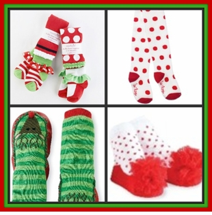 Christmas Bloomers, Tights , Socks and Booties