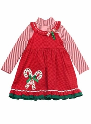 Little Girls Christmas Dress - Rare Editions