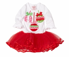 Christmas Dress - Ornament Tutu Dress  SOLD OUT
