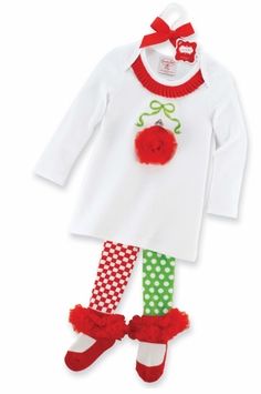 Christmas Ornament Tunic and Tights  SOLD OUT