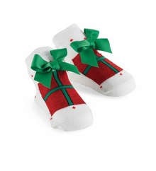 Christmas Present Socks (fits 0-12 month)