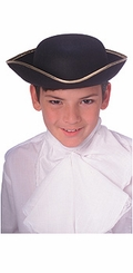 Colonial Boy - Child's Tricorne Hat